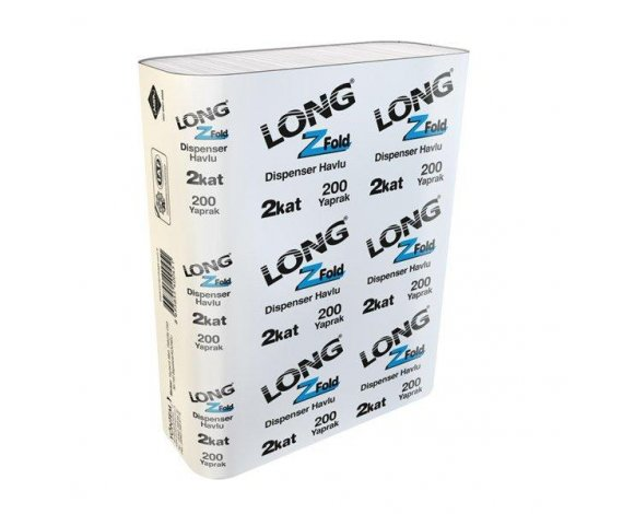 Dispenser Havlu Long 200*12 Paket